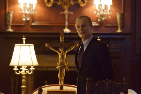 "THE STRAIN -- ""Intruders"" -- Episode 208 (Airs August 30, 10:00 pm e/p) Pictured: Richard Sammel as Thomas Eichhorst. CR: Michael Gibson/FX"