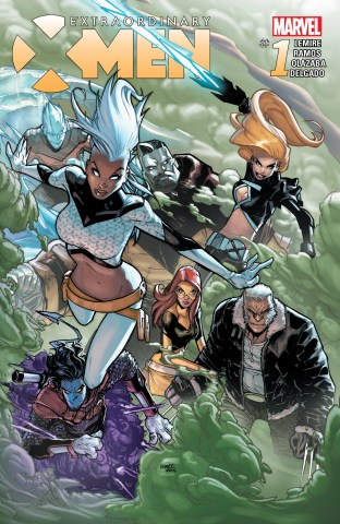 Extraordinary X-Men 01 cover