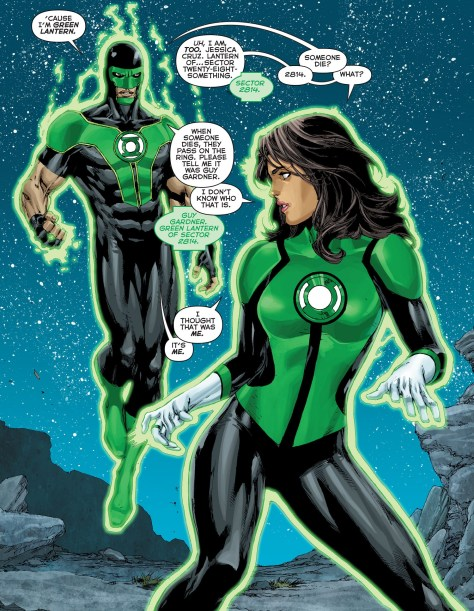 Green Lanterns - Rebirth review 03