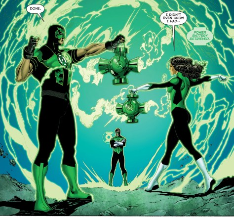 Green Lanterns - Rebirth review 04