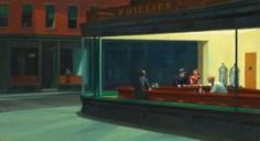 """הציור """"ניצי הלילה"""" של הופר"""