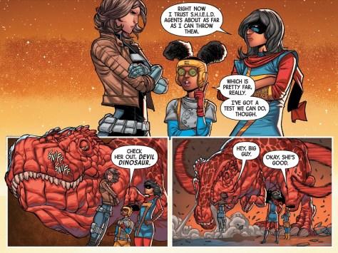 Secret Warriors 01-05 comics review - 03