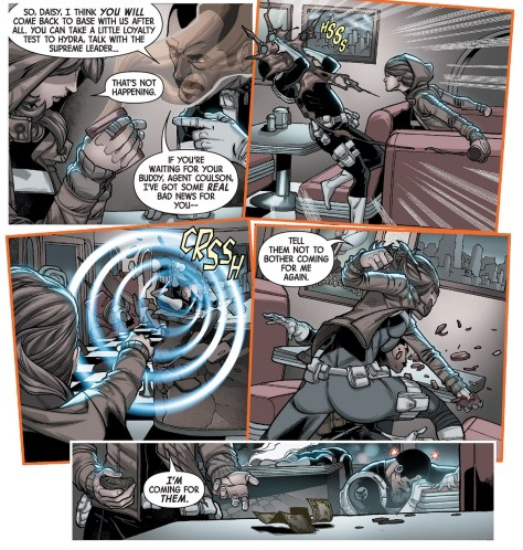 Secret Warriors 01-05 comics review - 04