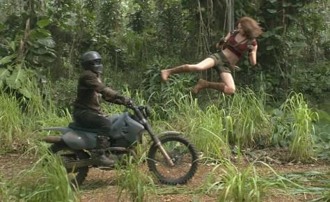 Karen Gillan star in JUMANJI: WELCOME TO THE JUNGLE.