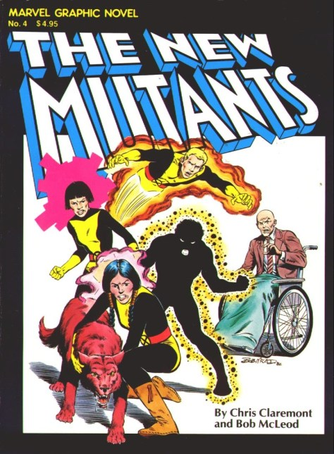new mutants graphic novel 1982