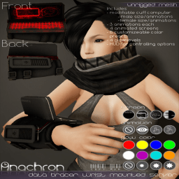 Anachron-Poster-Wall-DataBracer-CarbonFiber
