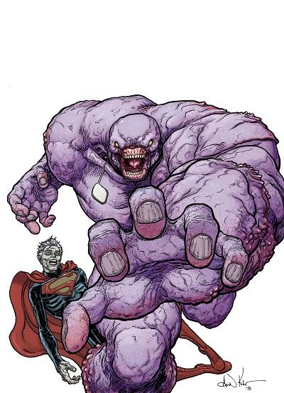Superman Parasite >> Review Superman 23 4 Parasite Multiversity Comics