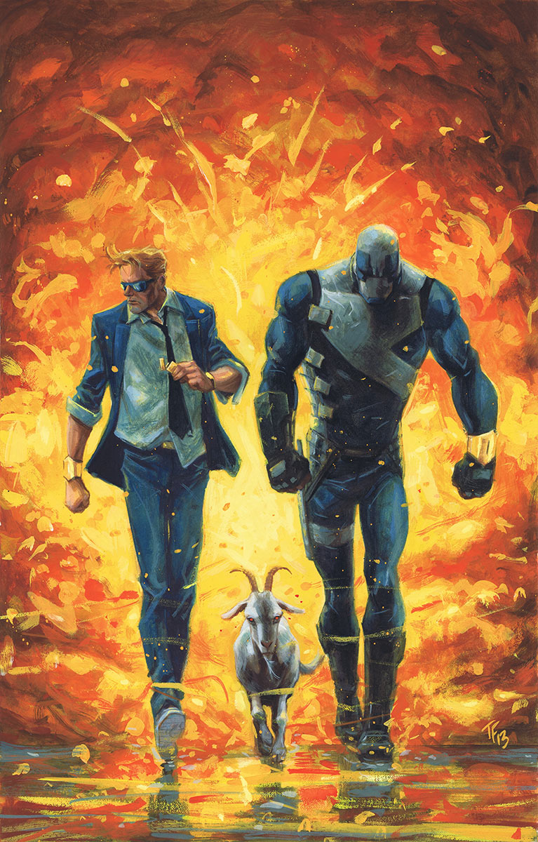 Valiant (Re)visions: Quantum & Woody #9 and Archer & Armstrong #19 [Review]