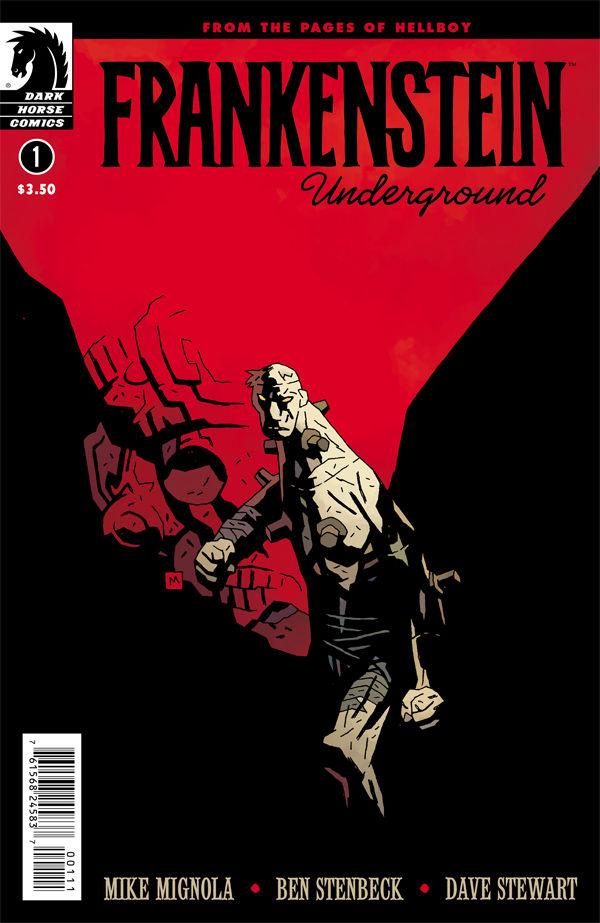 """""""Frankenstein Underground"""" #1 cover"""