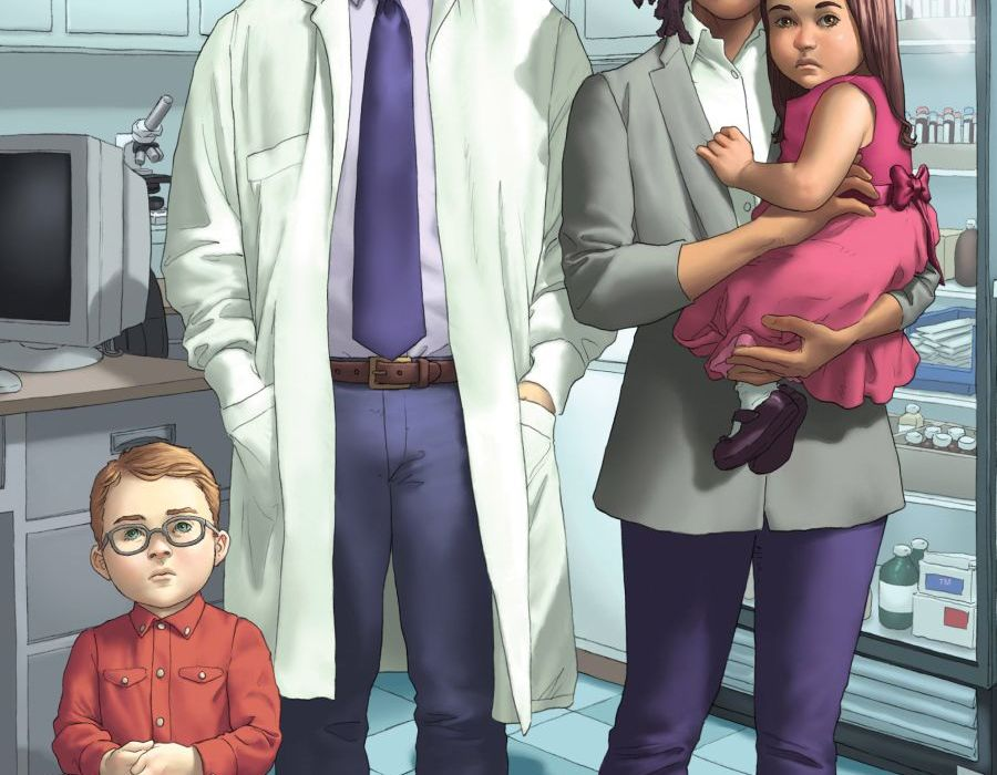 Morning Glories #44 Cover