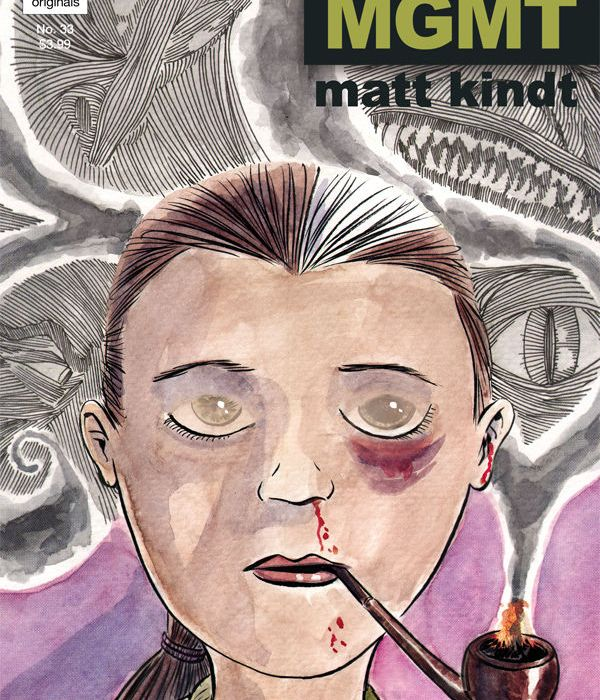 MIND MGMT issue 33 cover pipe kid
