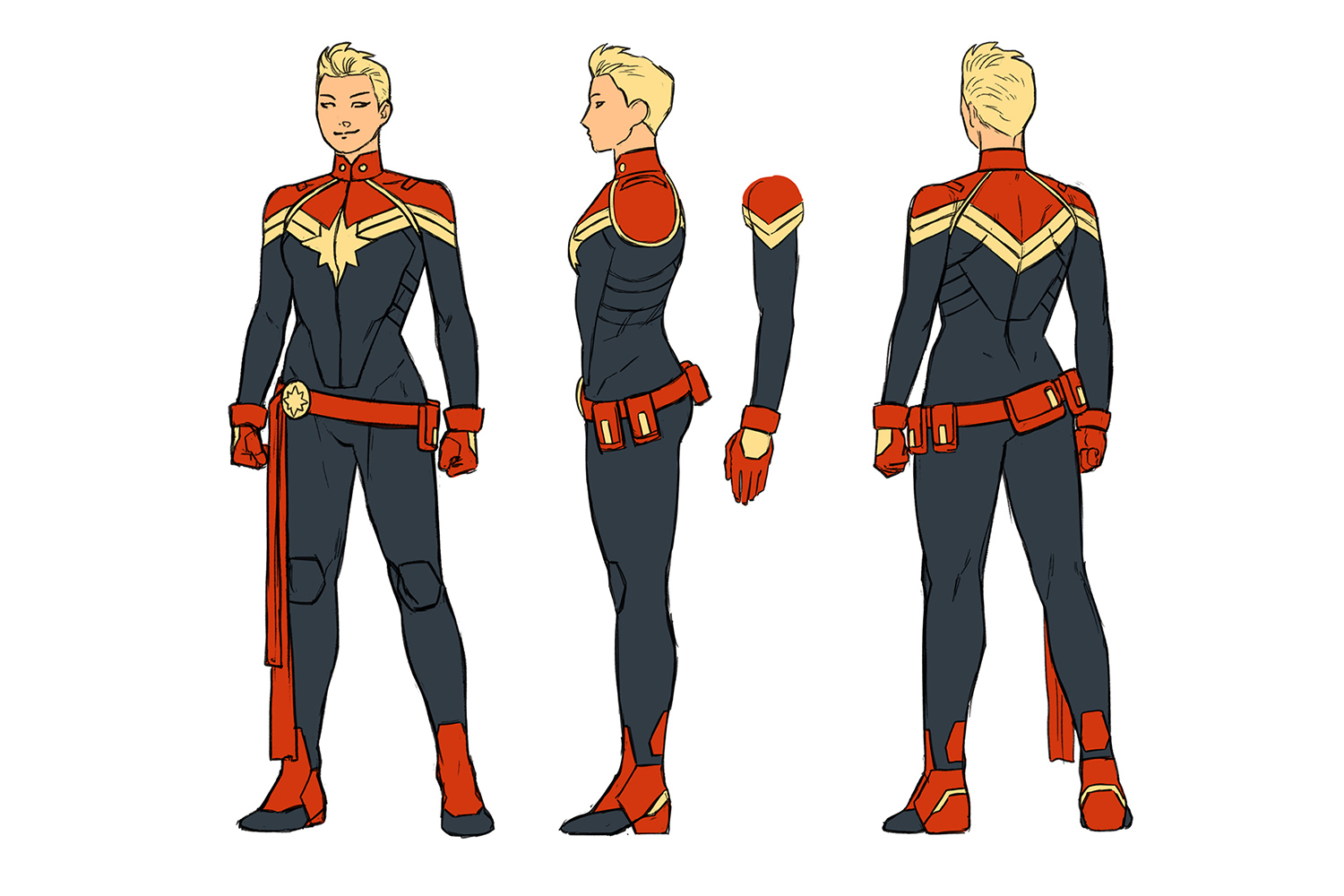 Captain Marvel Heads For The Stars In All New All Different Relaunch Multiversity Comics You are certain to marvel at the quality of this exquisite captain marvel costume. captain marvel heads for the stars in