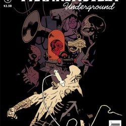 Frankenstein Underground #4 cover