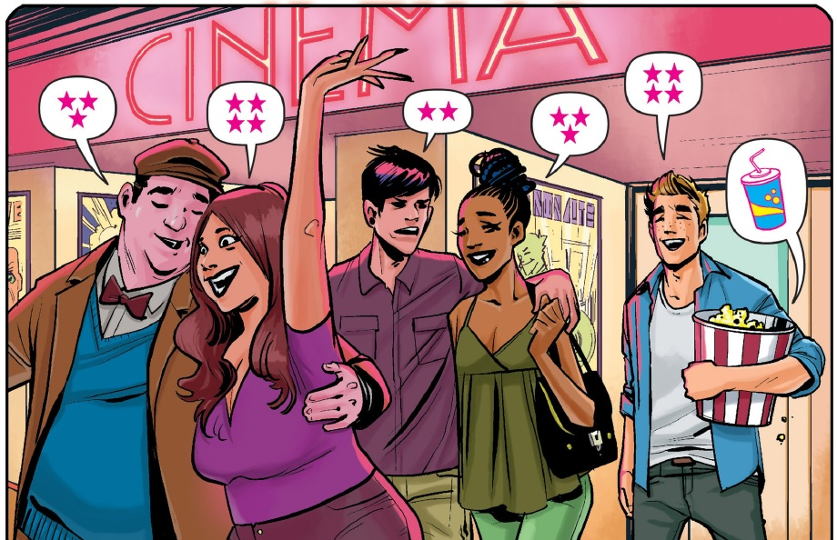 Archie#1 Panel: Archie at the Movies