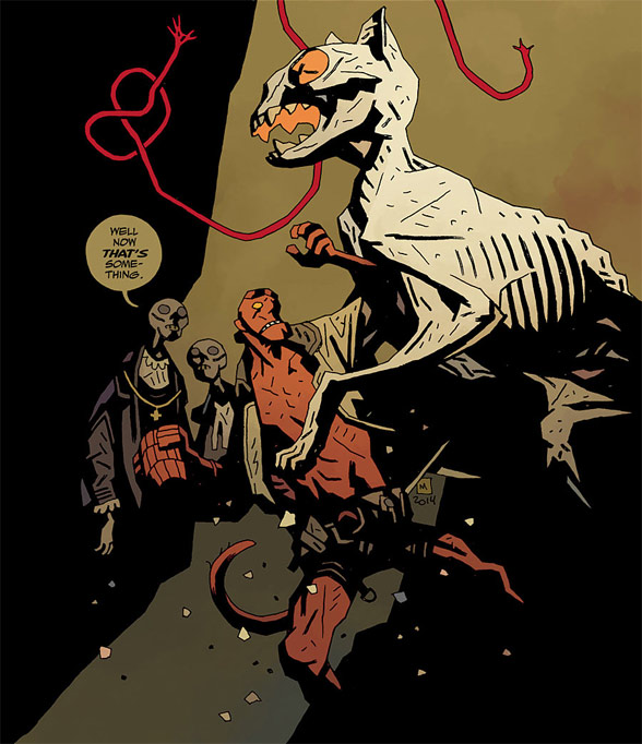 Hellboy in Hell: The Hounds of Pluto #2 (cropped cover)