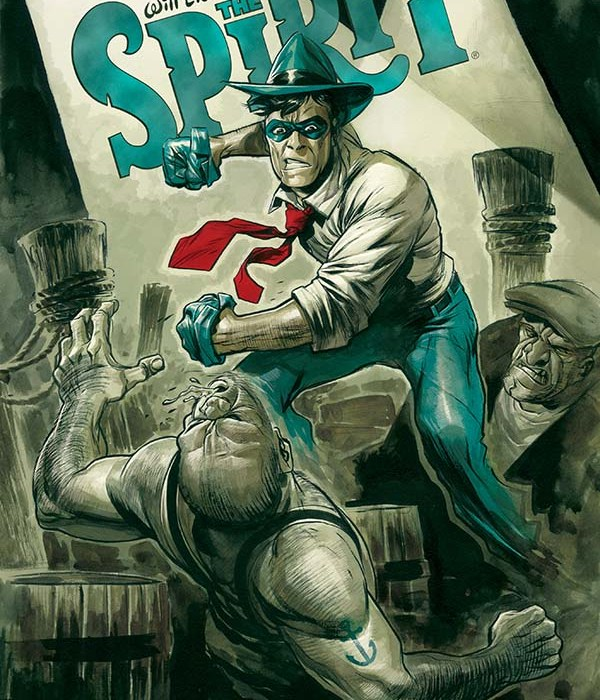 Will Eisners The Spirit #1 Cover