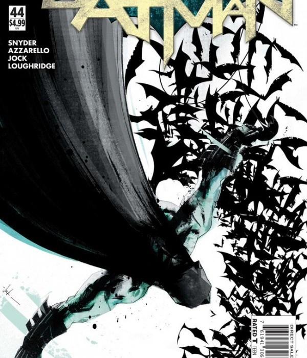 Batman #44 (cover by Greg Capullo)