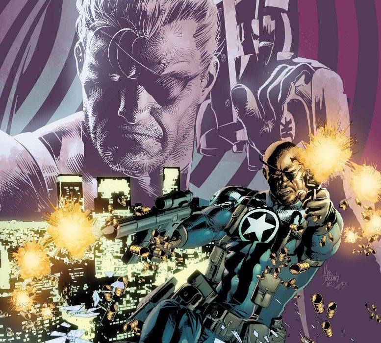Nick Fury Shield 50th Anniversary