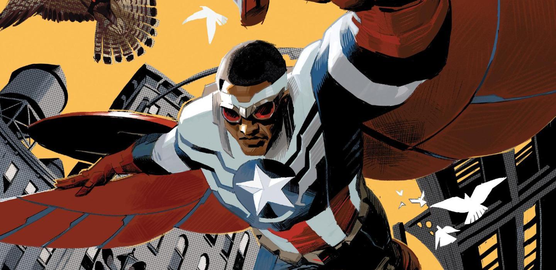 Captain America Sam Wilson Issue 1 Cover