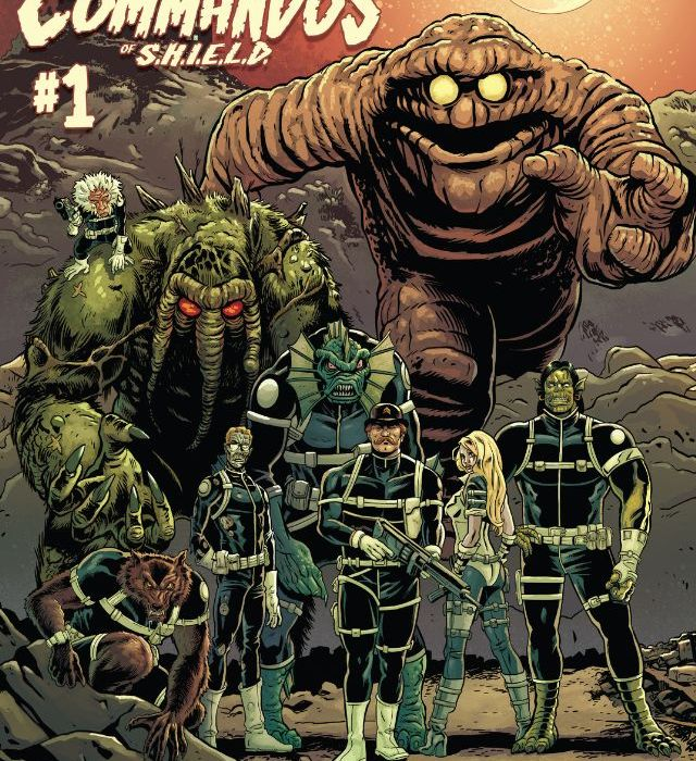 Howling Commandos Of SHIELD 01
