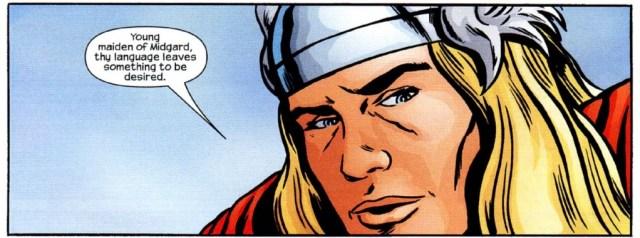 Thor Jessica Jones language