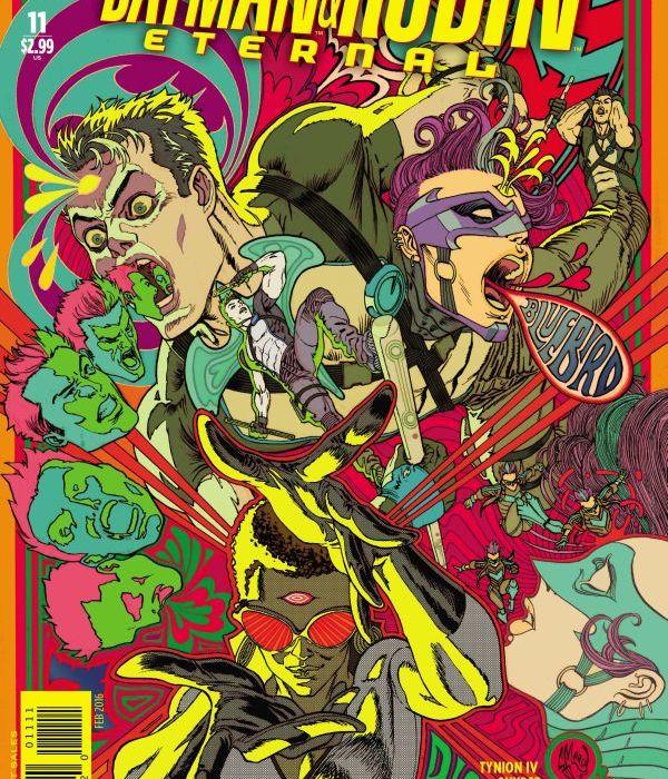 Batman and Robin Eternal #11 Cover