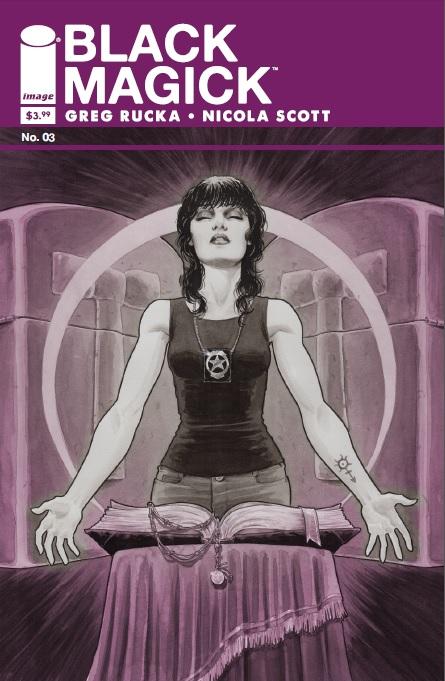 Black Magick Issue Three Cover