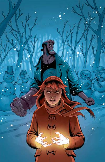 Hellboy Winter Special (Ben Stenbeck cover)