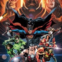 Justice League #50 Cover