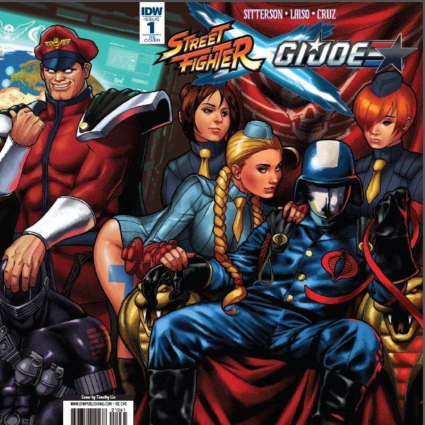 Street Fighter X GI Joe Featured