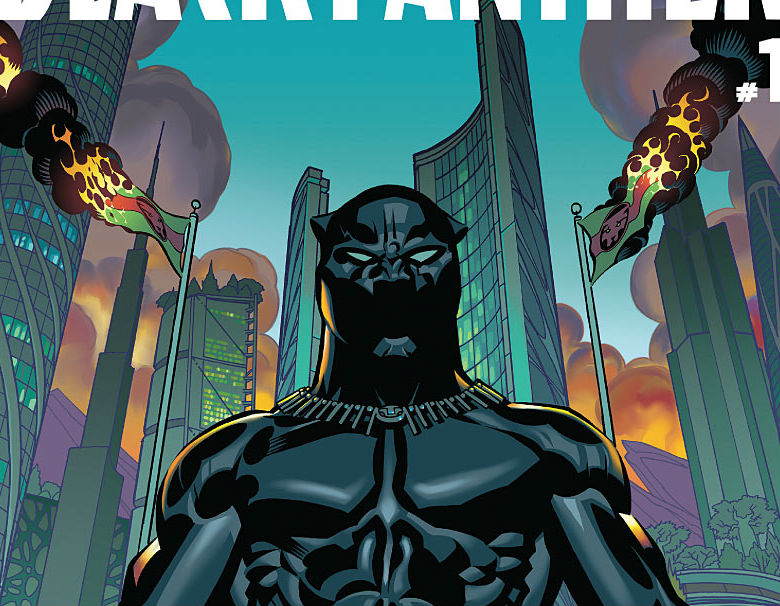 Black Panther Issue One Cover Cropped