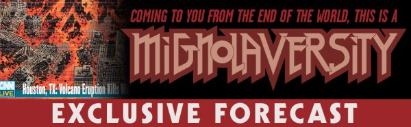 Mignolaversity Exclusive Forecast Logo