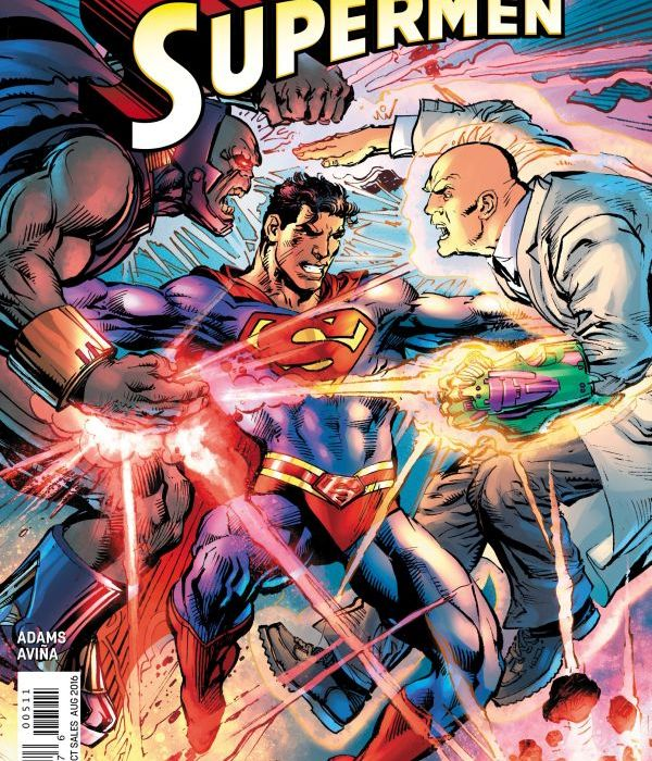 Superman: Coming of the Supermen #5 Cover