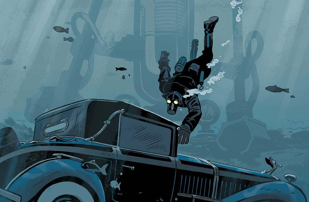 Feature - Lobster Johnson: Metal Monsters of Midtown #2