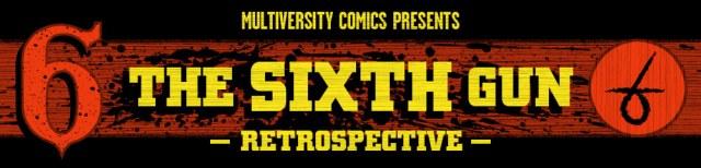 The Sixth Gun retrospective logo