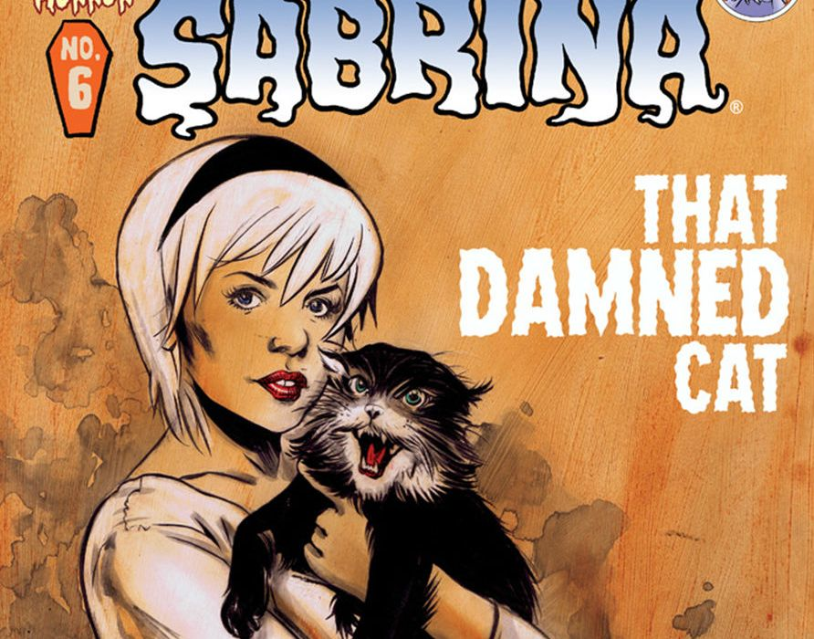 Chilling Adventure of Sabrina Issue 6 Cover Crop