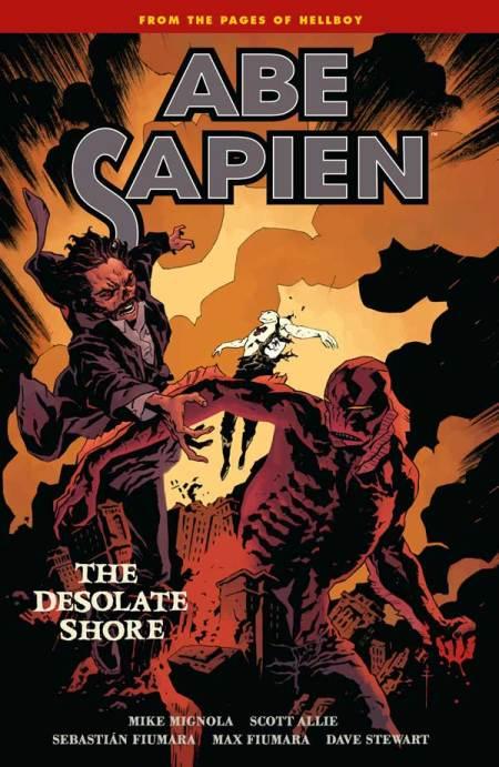 Abe Sapien – Volume 8: The Desolate Shore (cover)