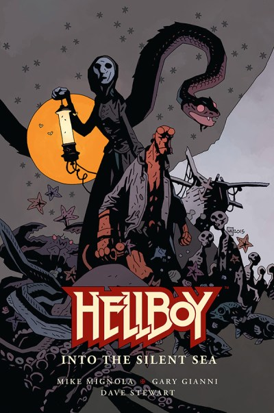 """Hellboy: Into the Silent Sea"" (cover)"