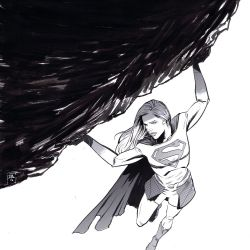 Supergirl Month: Ibrahim Moustafa Featured