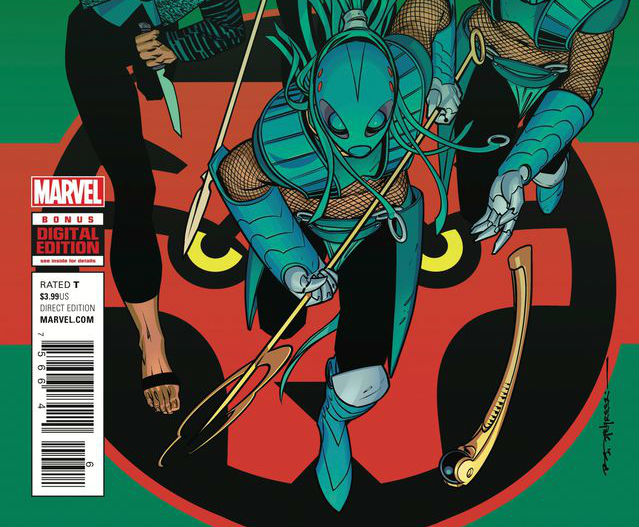 Black Panther Issue 6 Cover Crop