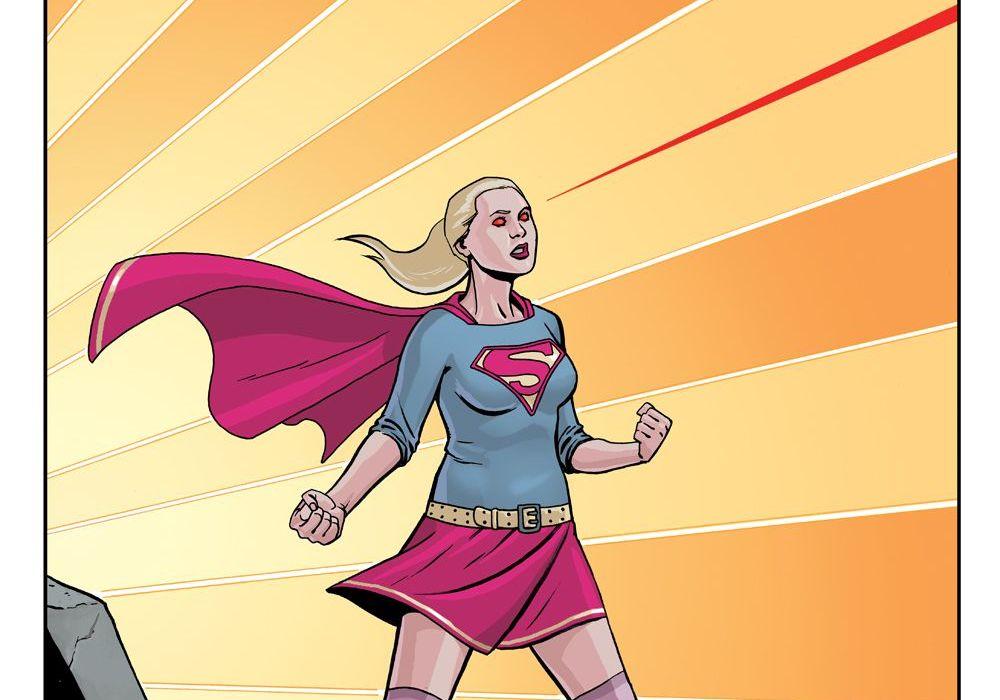 Supergirl Month: Ben Stenbeck Featured