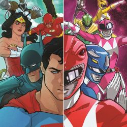 Justice League Mighty Morphin' Power Rangers 1 Featured