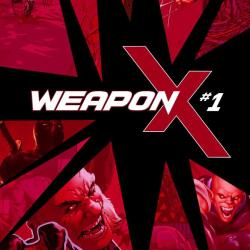Weapon X #1 Cover