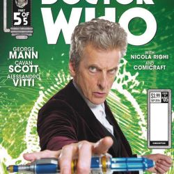 Doctor Who Supremacy of the Cybermen #5 Cover B
