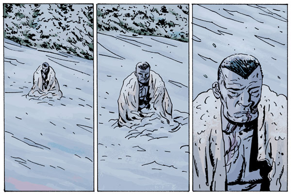 B.P.R.D.: Killing Ground #5 (Daimio in the snow)