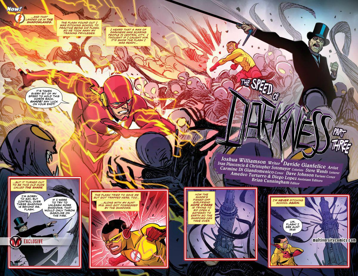 """Resenhando """"Flash: Volume Dois"""" – Renascimento DC   Críticas   Revista Ambrosia"""