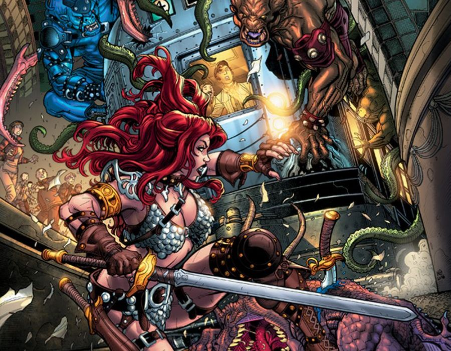 Red Sonja #0 Featured