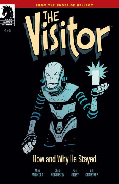 """The Visitor: How and Why He Stayed"" #1 (cover)"
