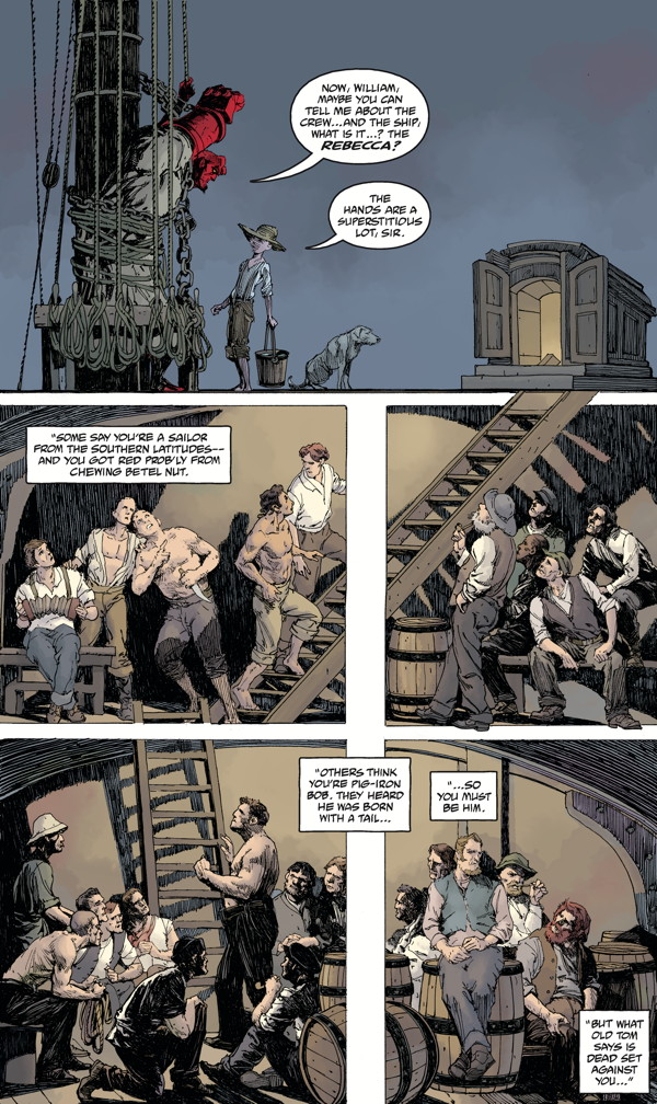 """Hellboy: Into the Silent Sea"" preview page 3"