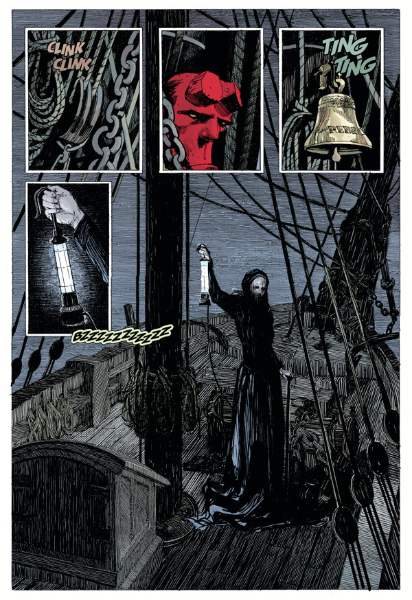 """Hellboy: Into the Silent Sea"" preview page 5"